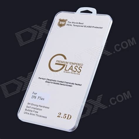 Tg Tempered Glass Iphone 6 2 5d 9h Screen Guard Protector Antigores Ka oleophobic coating 2 5d 0 26mm 9h tempered glass screen protector for iphone 6 plus 5 5 quot free