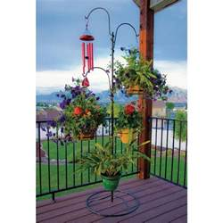 basket tree stand outdoor plant stand hanging basket holder tree flower pot