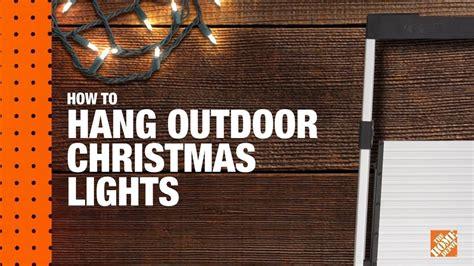 how to hang outdoor christmas lights lizardmedia co