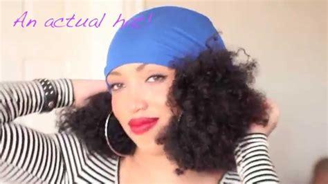 black people hair caps how i wear my slaps satin lined caps youtube