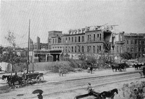 Clarke Mba Of Missouri St Louis by 1896 Tornado St Louis Mo The City Hospital