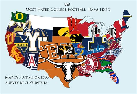 what nfl team has the most fans nationwide longhorns own the nation in fan survey says hookem com