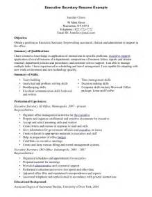 Secretary Resume Templates School Secretary Resume Best Resume Sample