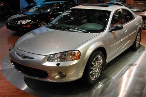 2001 chrysler sebring pictures history value research