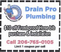 Pro Drain Plumbing by Drain Pro Plumbing Services Offer Discount Coupons For Plumbing Services