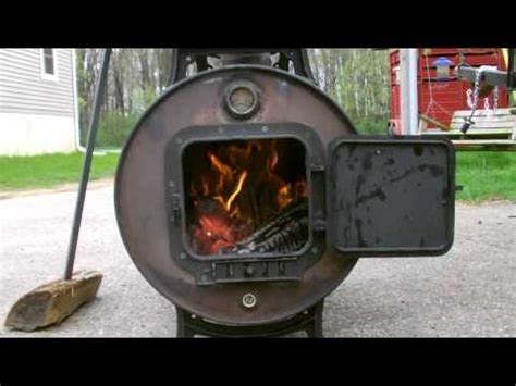 gas fired videolike design and build an drum smoker videolike