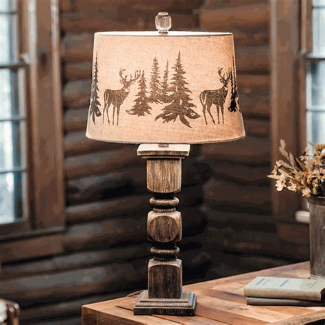 black forest home decor rustic table ls deer forest table l black forest decor