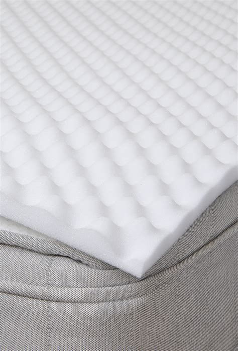 Single Foam Mattress Topper Single Bed Support Egg Box Foam Mattress Topper Ebay