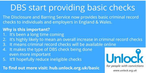 Basic Criminal Record Check Uk Basic Criminal Record Checks Launched Today By The Dbs