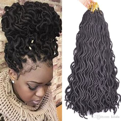 18 inch afro fashion crochet curly dreadlocks hair