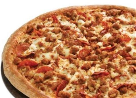 pizza meat lover t i domino s pizza aeon mall long bi 234 n top 10 high calorie foods in america delicious food 23