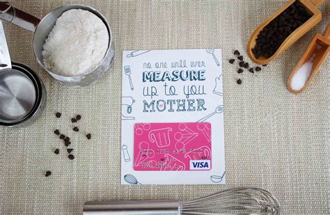 Gift Cards For Mom - mother s day gift nobody measures up to you gcg