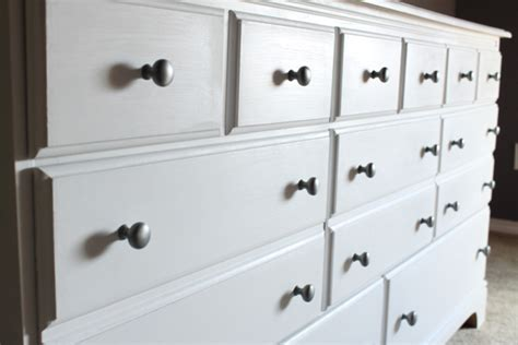 White Chalk Paint Dresser by The Chalk Paint Dresser Decorchick