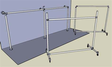 Wall Mount Clothes Rack by 1000 Images About Free Standing Clothes Rack On