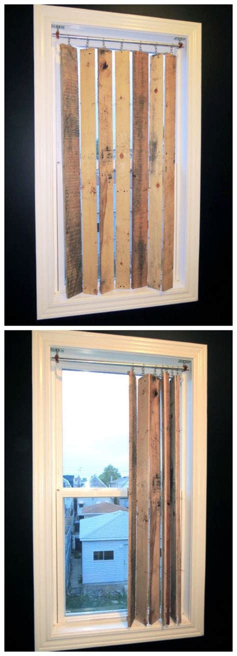 Blinds Diy Things To Make With Old Wooden Pallets Recycled Things