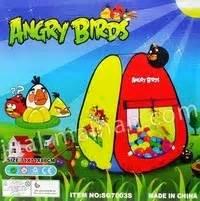 Terbaru Tenda Tenda Rumah Angry Birds 2 bermain di alam terbuka dengan tenda unik dan lucu circle 888 news