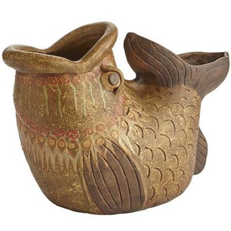 terracotta fish planter pier 1 imports pinterest
