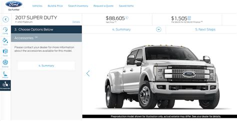 2018 f450 for sale 2017 ford duty configurator f 450 platinum