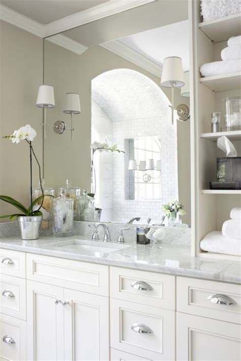 Bathroom Ideas With White Cabinets by Vancouver Interior Designer Which Pulls Knobs Should You