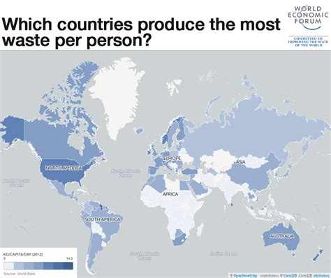 map of hazardous waste which countries produce the most waste world economic forum
