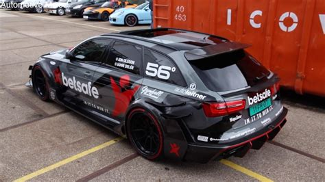 Audi Rs6 Dtm by 1000hp Audi Rs6 Dtm Sound Dpccars