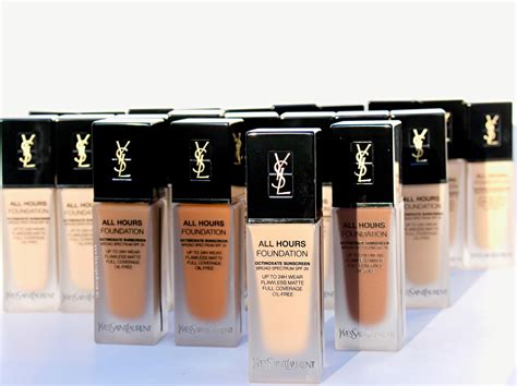 Foundation Ysl All Hours Professor 2 Major Things A Glimpse At The