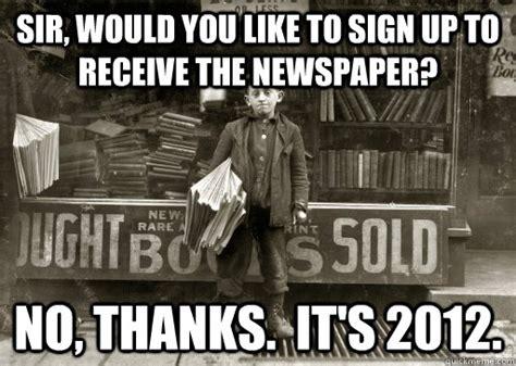 Newspaper Meme Generator - image gallery newspaper meme