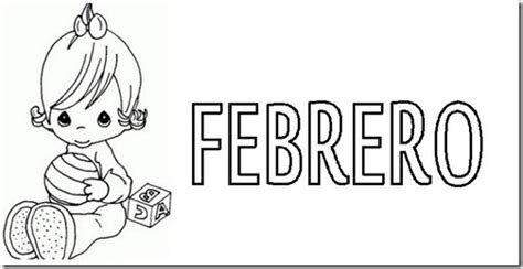 dibujos para colorear del mes de febrero imagui imagenes de febrero para colorear
