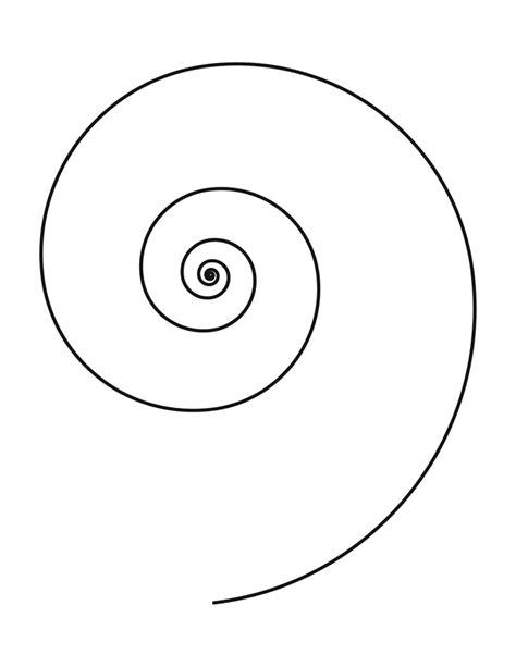 spiral template rondeurs pinterest