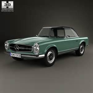 Mercedes Sl Models Mercedes Sl Class W113 1963 3d Model Humster3d
