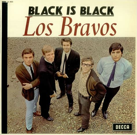 los bravos the los bravos black is black uk vinyl lp record lk4822 black is black los bravos lk4822 decca