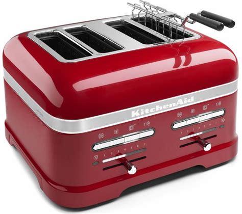 Kitchen Aid Artisan Toaster Buy Kitchenaid Artisan 5kmt4205bca 4 Slice Toaster Red