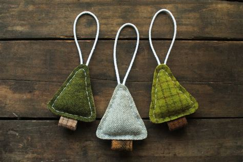 homespun woodland christmas tree 25 best ideas about sewn ornaments on felt ornaments fabric