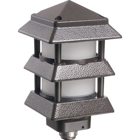 Arlington Gpp60b Gard N Post Pagoda Style Decorative Pagoda Landscape Lights