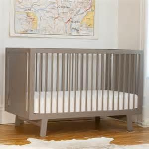 sparrow crib in grey and nursery necessities in interior