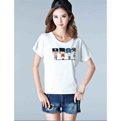 Kaos Fashion Import 47 kaos wanita import t2956 moro fashion