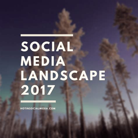 social media landscape 2017