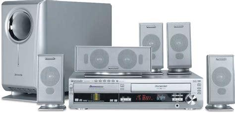 Dvd Home Theater Panasonic Sc Xh333 panasonic sc ht820v dvd vcr home theater system at