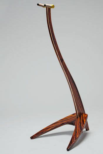 wooden guitar stand gifts support guitare guitare