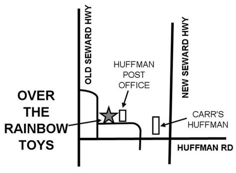 Huffman Post Office by The Rainbow Toys Home Of Toys For