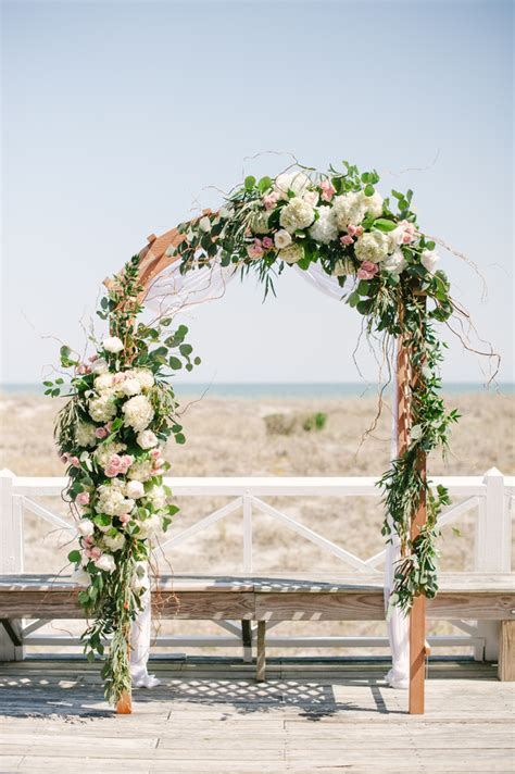 Wedding Arch Floral by Chuppahs Arches Arbors Southern New Weddings