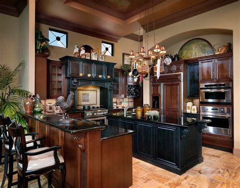Elegant Kitchen Design Ideas Elegant Kitchen Decor Black And Brown Kitchen Cabinets