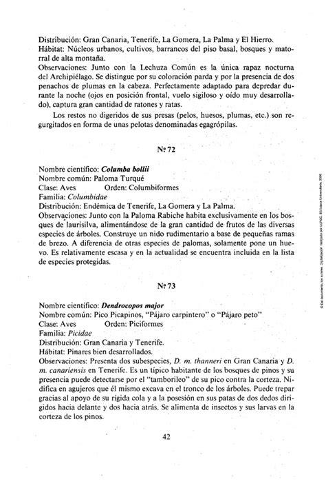 Shp Fauna 1987 71 fauna de las islas canarias 2 170 edici 243 n 1987