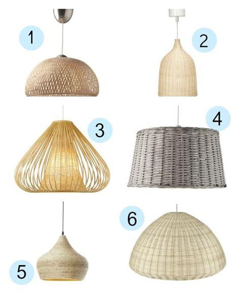 lamparas colgantes de fibras naturales decor wicker
