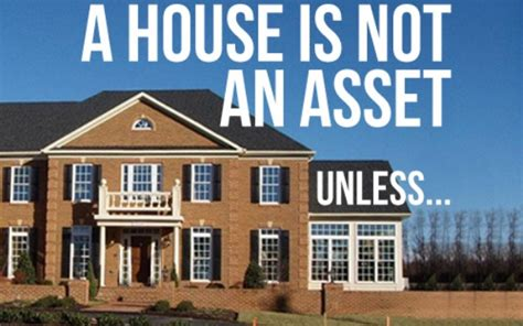 is a house an asset your house is not an asset richard macalintal