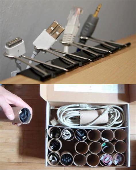 m 225 s de 25 ideas incre 237 bles sobre organizaci 243 n de cables en