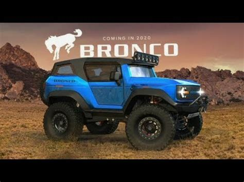 2020 Ford Bronco Official Pictures by 2020 Ford Bronco Announcement At Detroit Auto Show Naias