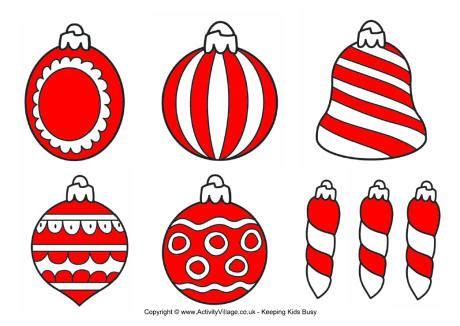 small printable christmas decorations christmas decorations printables