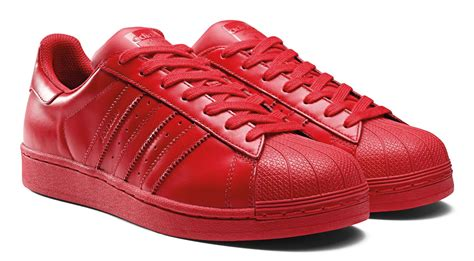 adidas red shoes adidas superstar supercolor shoes red
