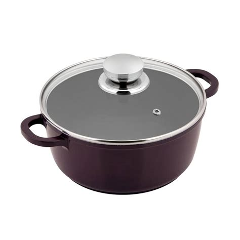 Cs Koch Selm Teflon Black Pot 20cm jual cs kochsysteme solingen selm teflon ungu pot panci